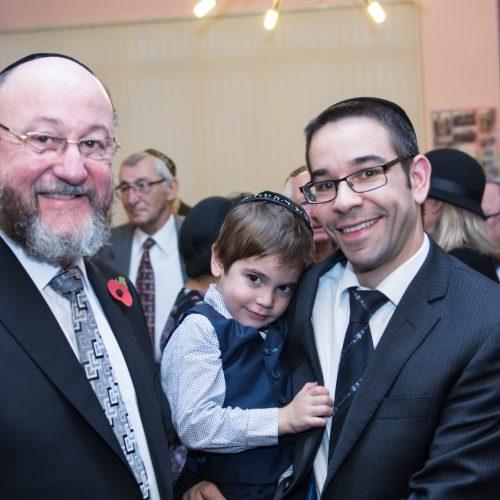 Chief Rabbi AND Rabbi D