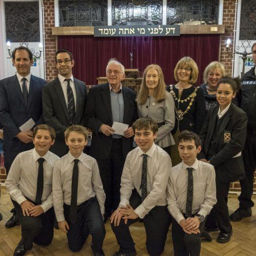 School holocaust visit